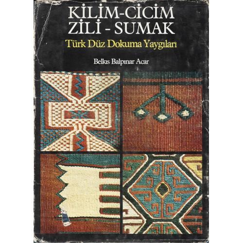 Kilim-Cicim-Zili-Sumak Turkish Flatweaves