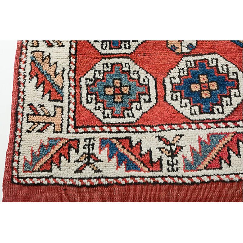 チャナッカレ アンティーク絨毯 C25046