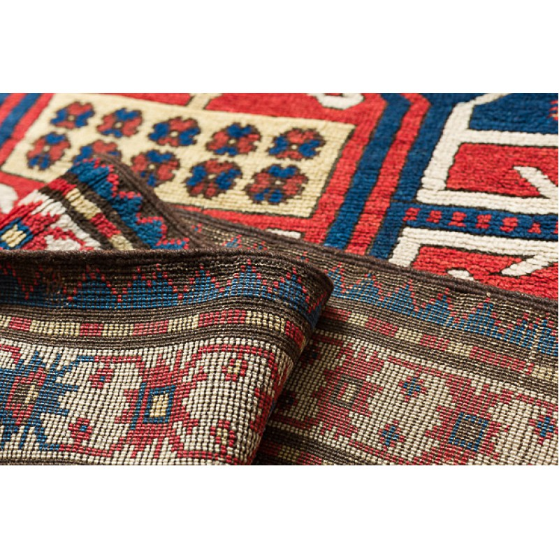 コーカサス カラバフ アンティーク絨毯 C25047