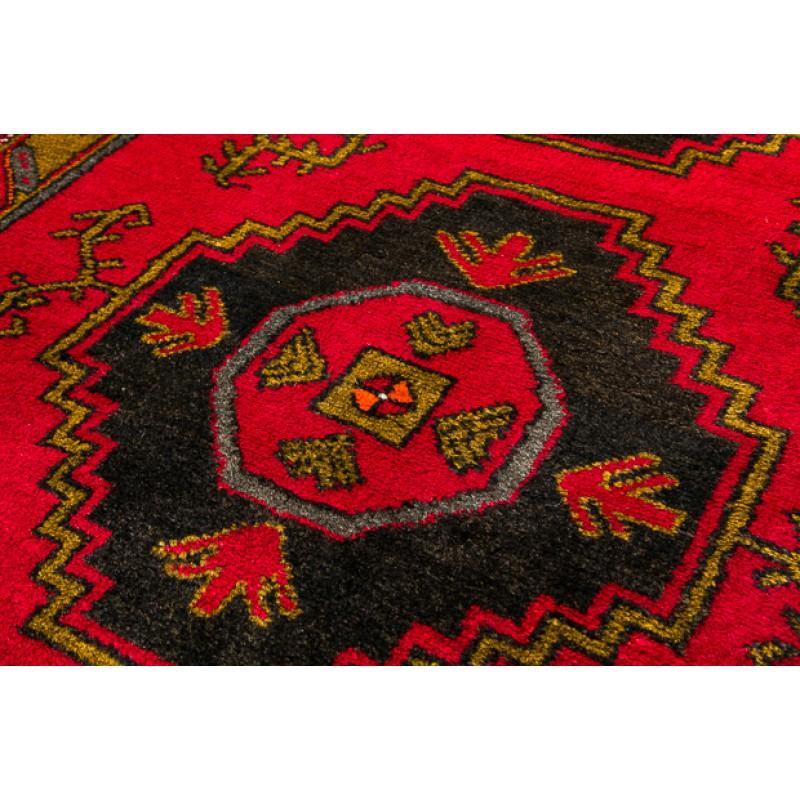 クルドオールド絨毯 C26004