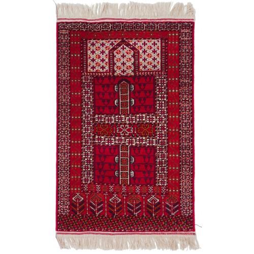 テッケ・ブハラ Bukharaトルクメン絨毯 C26007