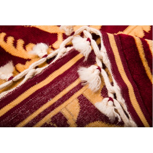ウシャック絨毯 C27006