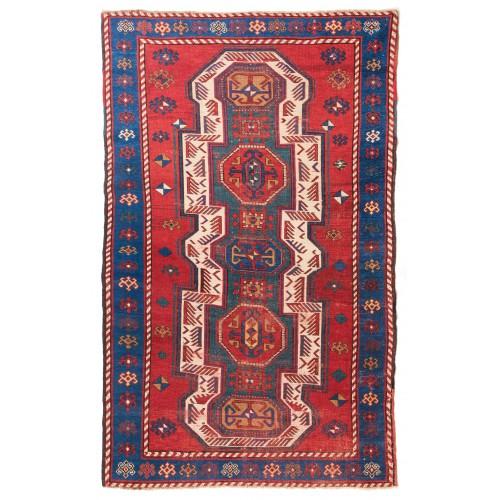 Sewan Kazak セヴァンカザックアンティーク絨毯 C27010