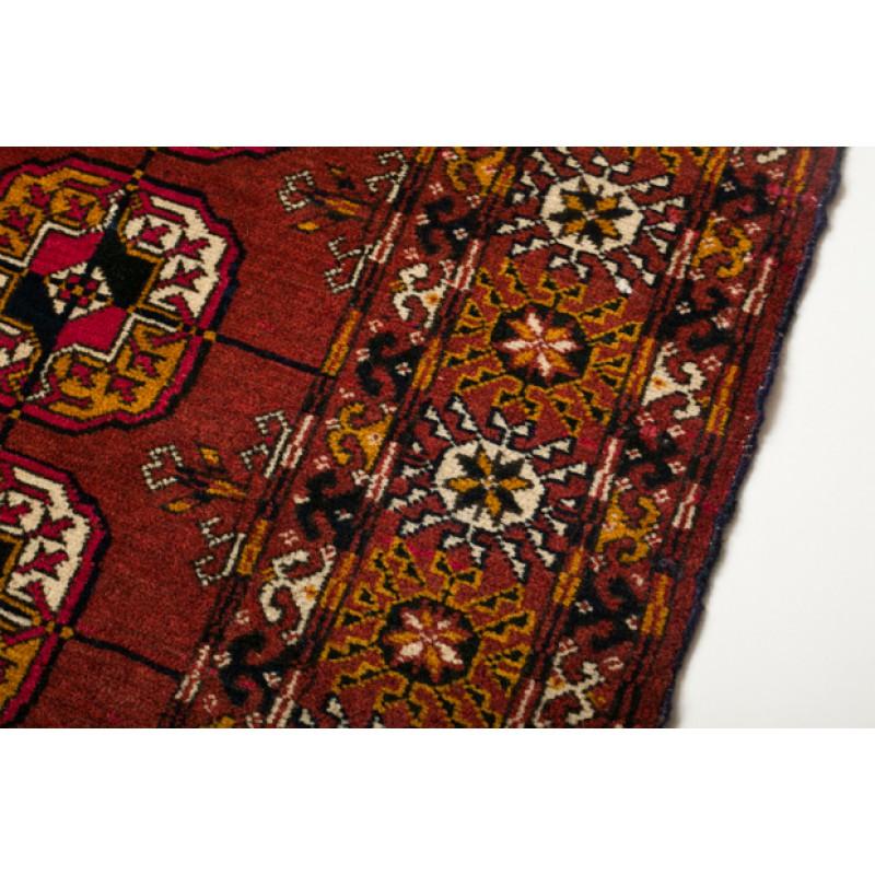 テッケ・ブハラ Bukhara トルクメン絨毯 C27020