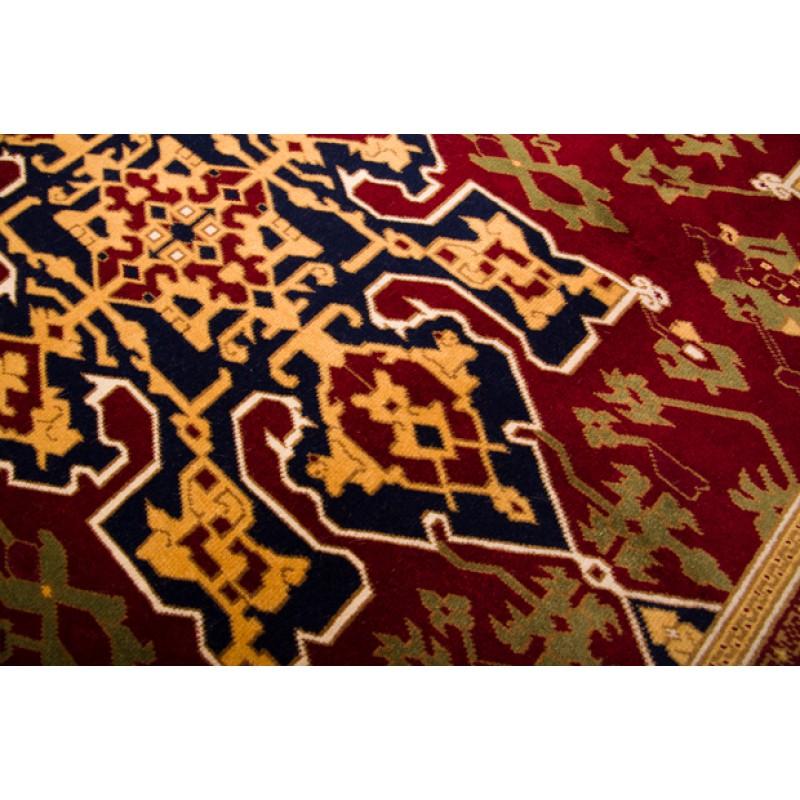 ウシャック絨毯 C27034