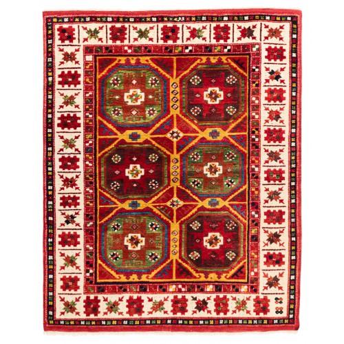 ウシャック セルチュック 絨毯 C28021