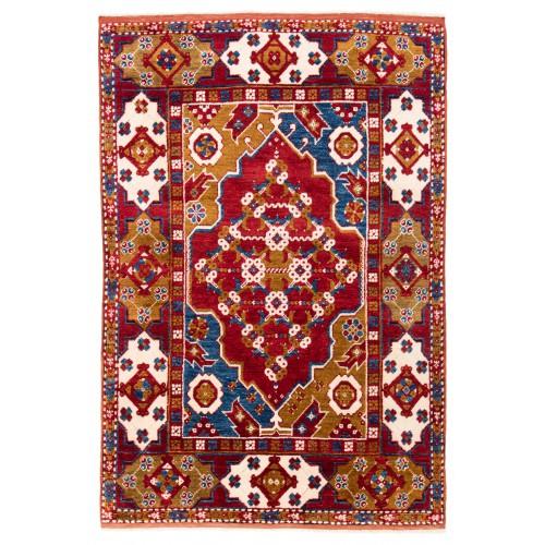 ウシャック セルチュック 絨毯 C28022
