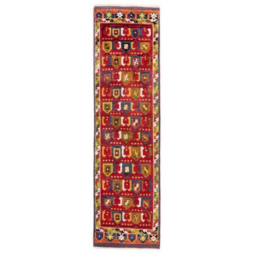 ウシャック セルチュック 絨毯 C28026
