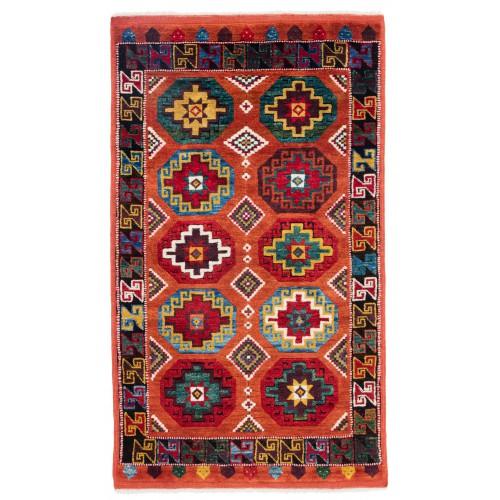 ウシャック セルチュック 絨毯 C28029