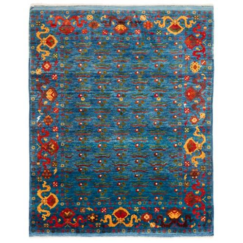 ウシャック セルチュック 絨毯 C28030