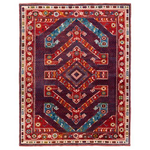 ウシャック セルチュック 絨毯 C28031