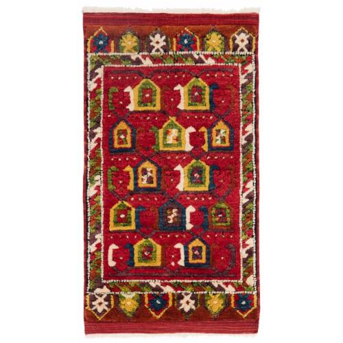 ウシャック セルチュック 絨毯 C28036