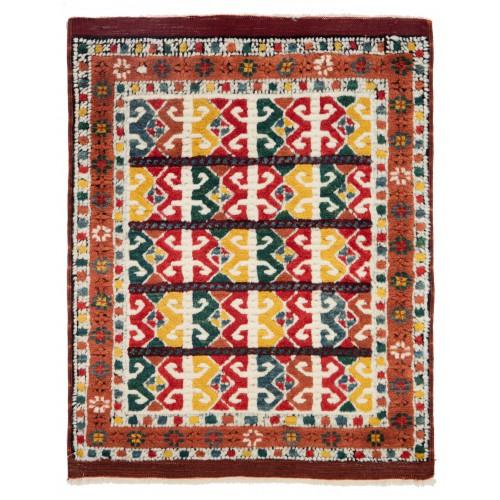 ウシャック セルチュック 絨毯 C28037