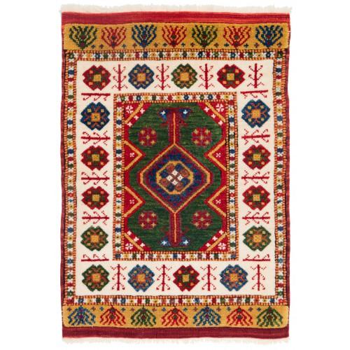 ウシャック セルチュック 絨毯 C28038