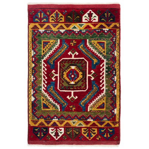 ウシャック セルチュック 絨毯 C28040