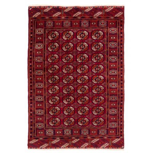 テッケ・ブハラ Bukhara トルクメン絨毯 C28067