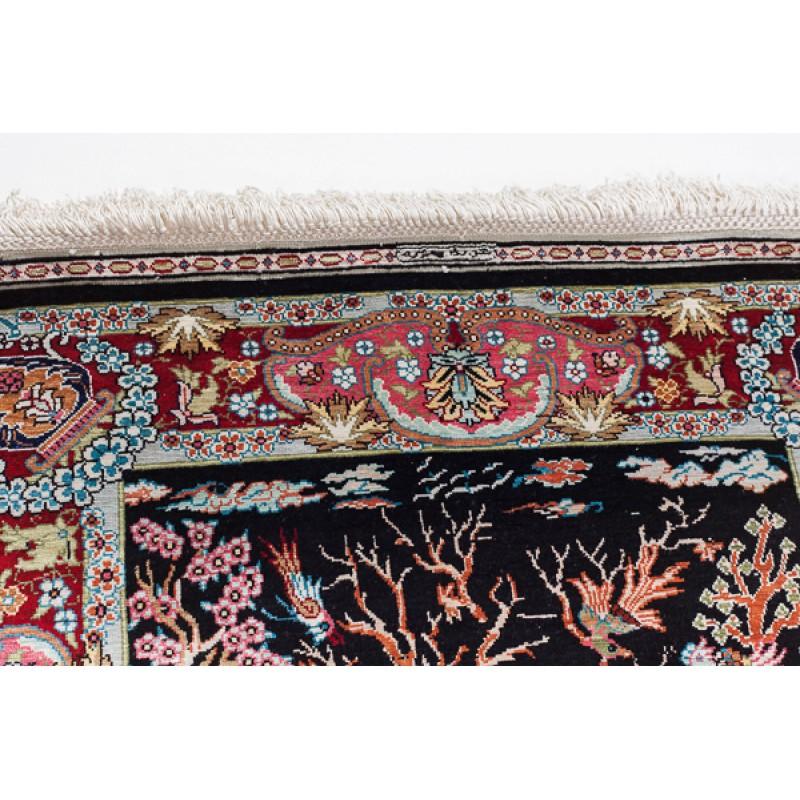 ヘレケシルク絨毯 C28118