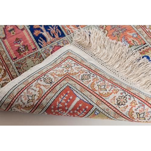 ヘレケシルク絨毯 C28121