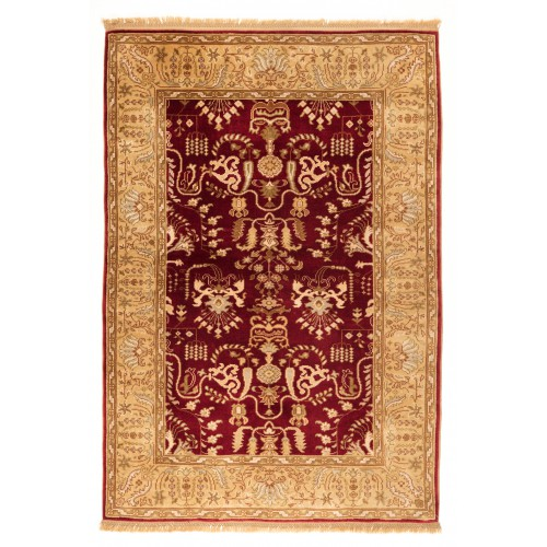 Ushak Rug Vegetable Dye C28137