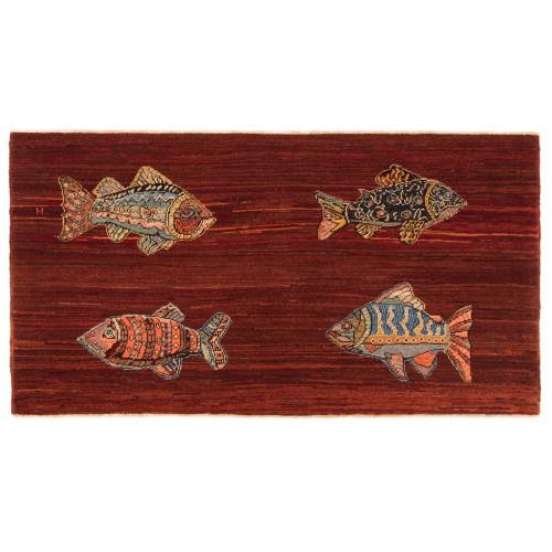魚絨毯 fish rug C30028