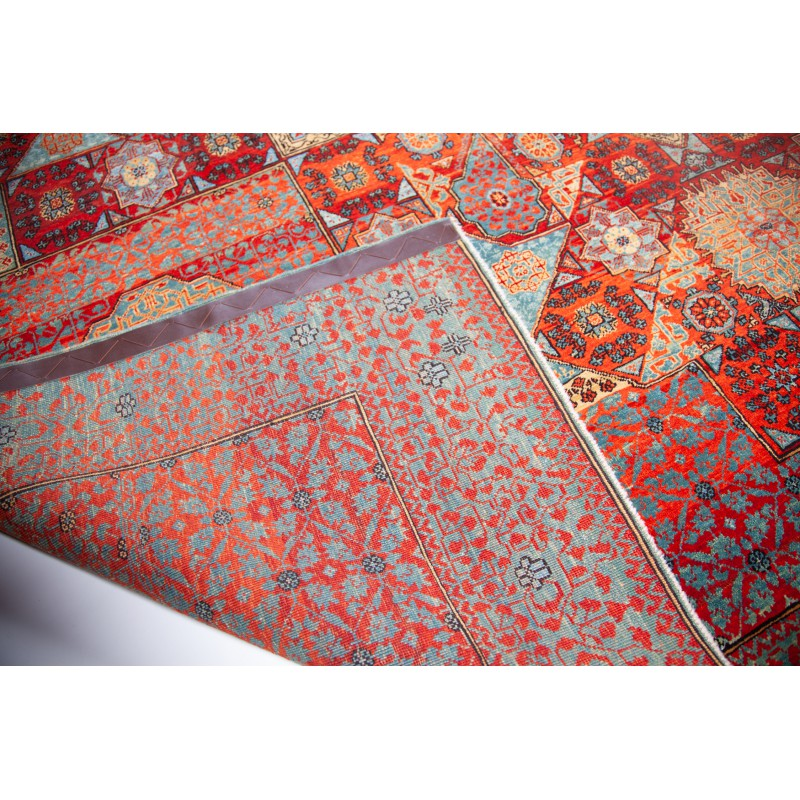 マムルーク デザイン絨毯 C40036
