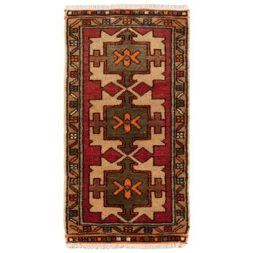 Anatolia Yastik オールド 絨毯 玄関サイズ C40053