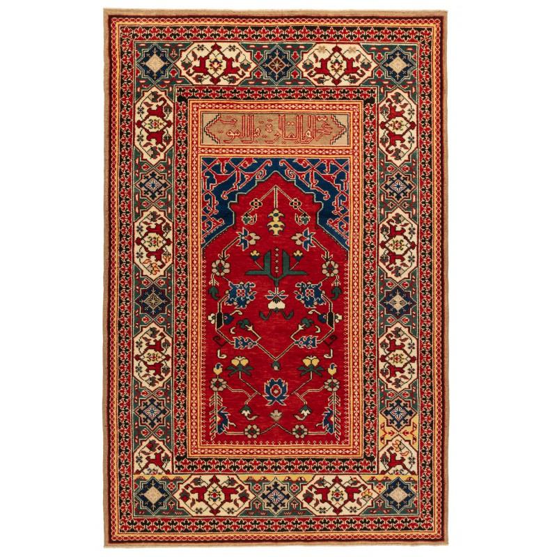 マムルーク 絨毯 コウカサス織 C40063