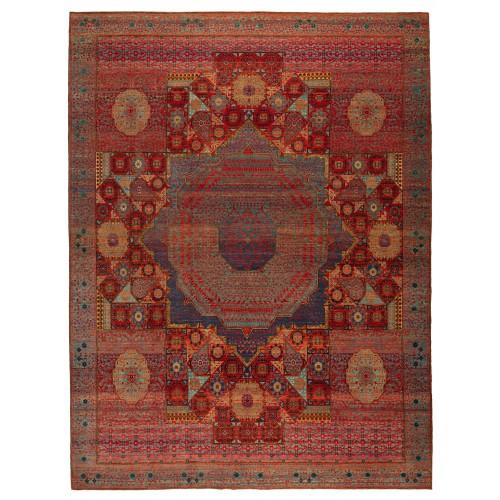 マムルーク デザイン絨毯 C40069