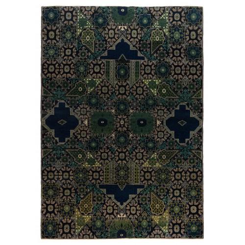マムルーク デザイン絨毯 C40070