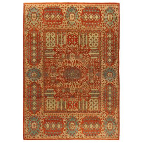 マムルーク デザイン絨毯 C40071