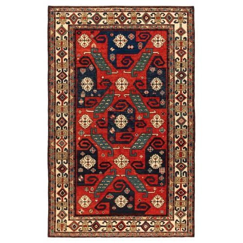 PINWHEEL KAZAK 絨毯  C40074