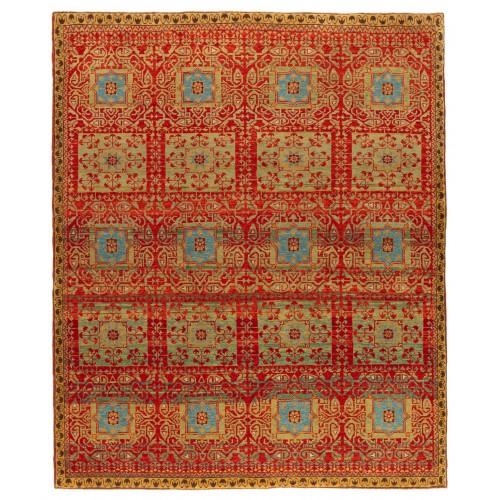 マムルーク デザイン絨毯 C40076