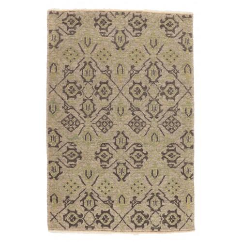 マムルーク デザイン絨毯 玄関サイズ C40088