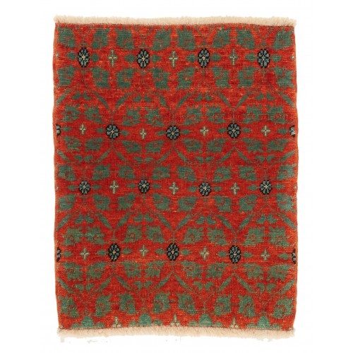 マムルーク デザイン絨毯 玄関サイズ C40089