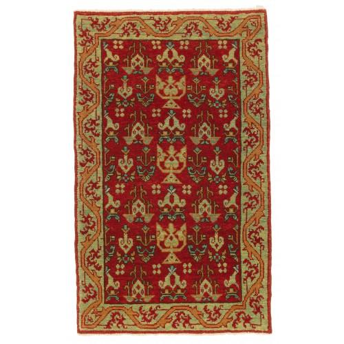 マムルーク デザイン絨毯 玄関サイズ C40093