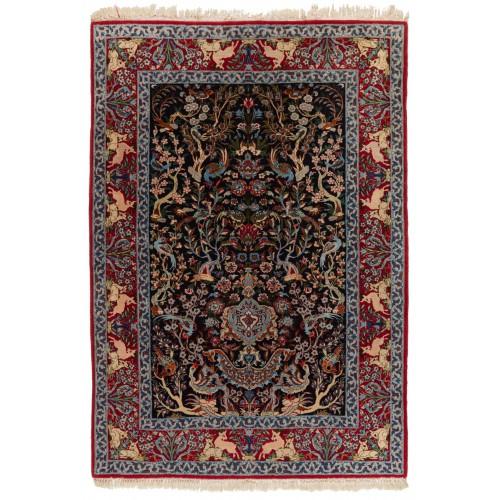 Isfahan 絨毯 C40097