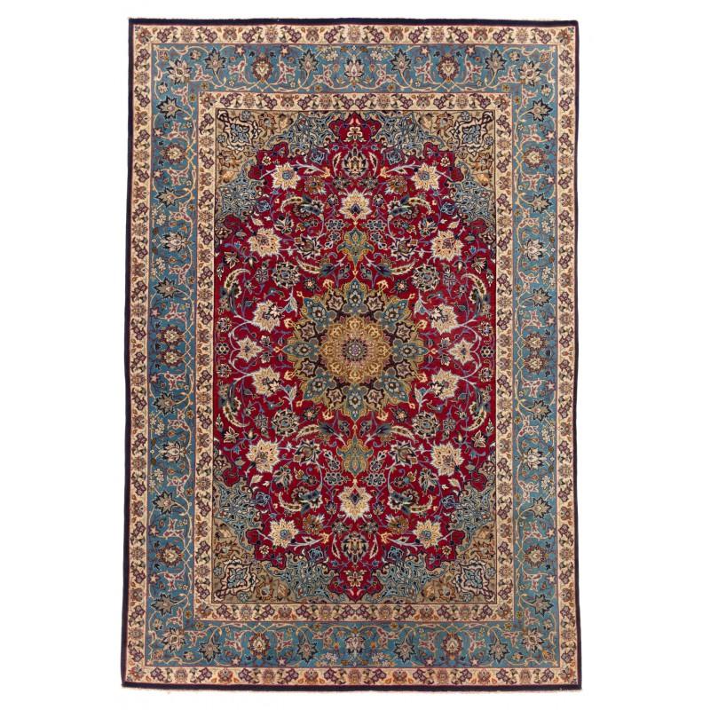 Isfahan 絨毯 C40098