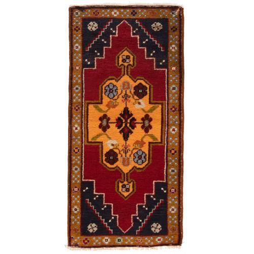 Anatolia Yastik オールド 絨毯 玄関サイズ C40107