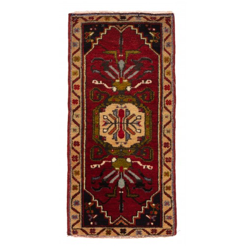 Anatolia Yastik オールド 絨毯 玄関サイズ C40112