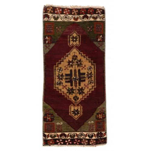 Anatolia Yastik オールド 絨毯 玄関サイズ C40115