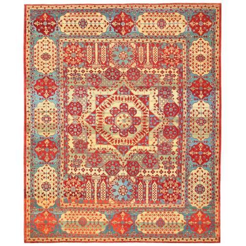 マムルーク絨毯 C40126