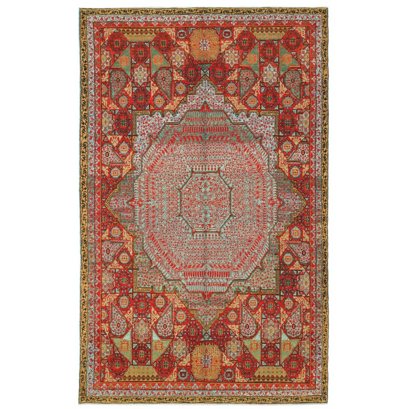 マムルーク絨毯 C40127