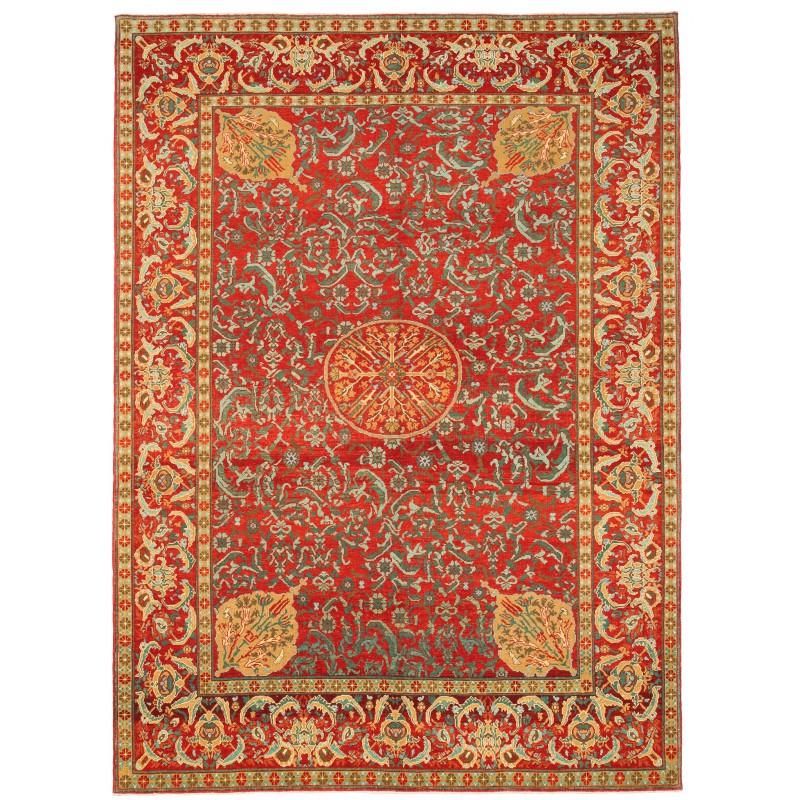 オットマンマムルーク絨毯 C40128