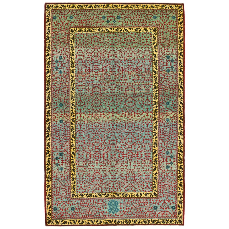 マムルーク絨毯 C40129