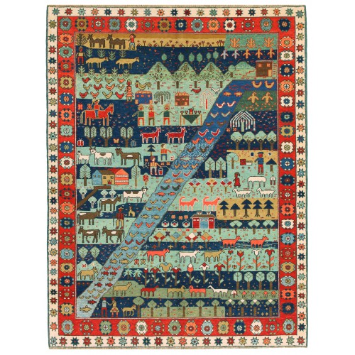 Azeri Rug C40140