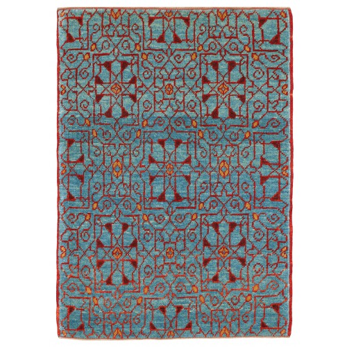 マムルーク 絨毯 玄関サイズ C40148