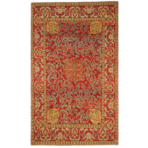 オットマンマムルーク絨毯 C40150