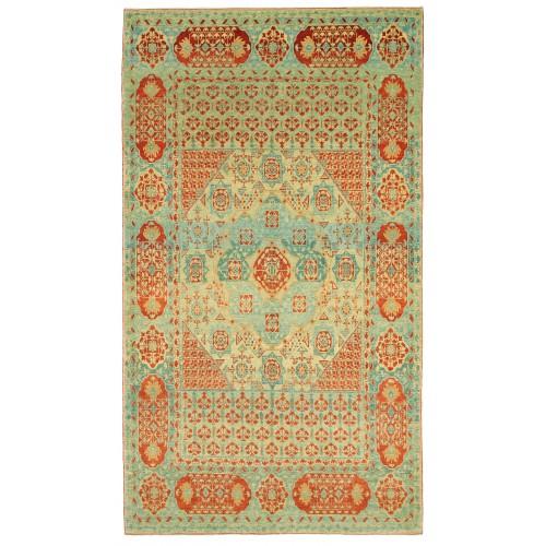 マムルーク デザイン絨毯 C40151