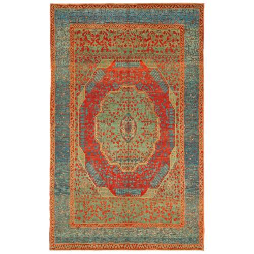 マムルーク デザイン絨毯 C40153