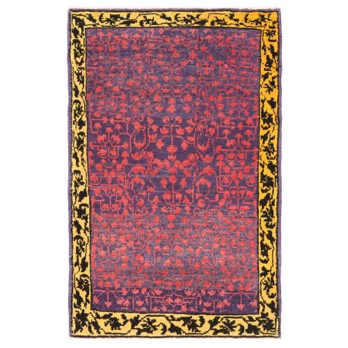 マムルーク 絨毯 玄関サイズ C40158